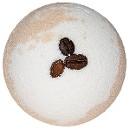 Двухцветный бурлящий шар с кофейными зернами, 130 г