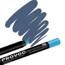 Гелевая подводка-карандаш для глаз, цвет небесно-голубой 70
