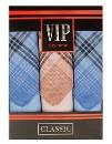 """Набор носовых платков """"Vip Classic"""" светлая клетка, 36 х 36 см"""