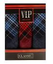 """Набор носовых платков """"Vip Classic"""" темная клетка, 36 х 36 см"""
