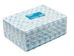 Полотенце большое в пачке 45x90 голубой спанлейс 50 (50 шт)