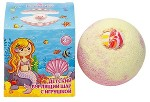 Детский бурлящий шар с игрушкой для девочек, 130 г