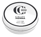 CC Brow хна для бровей и ресниц в баночке (черный), 10 гр