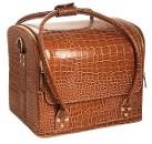 "Сумка-чемодан ""Crocodile"" коричневая"