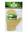 Мочалка-руковичка из сизаля среднее плетение