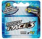 Сменные кассеты Dorco PACE 3, 4 шт