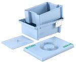 Емкость-контейнер ЕДПО-1С полимерный для химической дезинфекции, 1 литр
