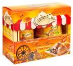"""Подарочный набор Сладкий спа """"Медовое мороженое с миндальной крошкой"""""""