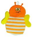 Мочалка детская рукавичка Пчёлка