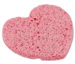 """Спонж для умывания """"Сердце"""", 8,5*7,5*0,8 см, микс"""