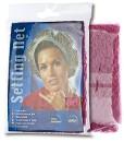 Сеточка RAYONNE фиксирующая для бигуди розовая