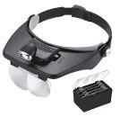 Налобная Лупа-очки с подсветкой и регулируемым увеличением MG8100